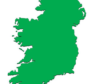 Map of Ireland. Image: Creative Jen Designs/Shutterstock.com