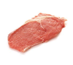 Isolated Pork Meat