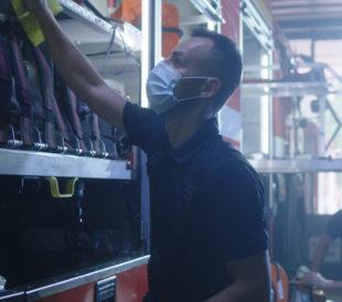 Fire Dept. Confirms Safety Protocols Using In-Air Pathogen Surveillance