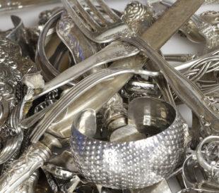 old silver scrap