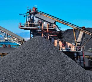 Blending coal