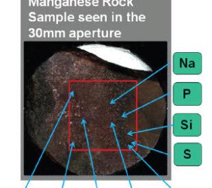 heterogeneous rock samples