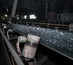 Moving the Coal Through a Coal-Fired Power Plant