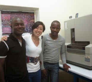 Lillian Seu uses Sanger sequencing to detect drug mutations and better treat HIV