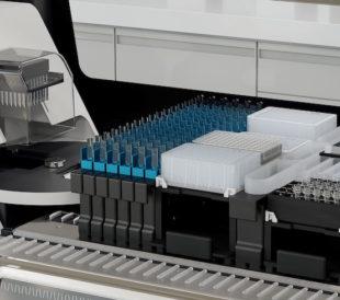 An automated lab setup