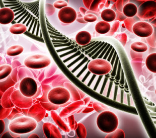 Blood and DNA. Image: RAJ CREATIONZS/Shutterstock.com