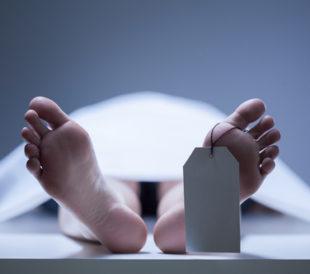 Feet of a human cadaver. Image: Photographee.eu/Shutterstock.com