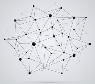 Abstract image of nodes connected with each other. Image: Ramcreativ/Shutterstock.com
