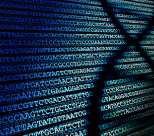 DNA sequence / Abstract background of DNA sequence. Image: enzozo/Shutterstock.com.
