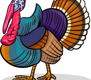 cartoon image of turkey