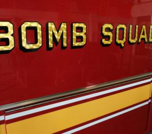 bomb squad truck
