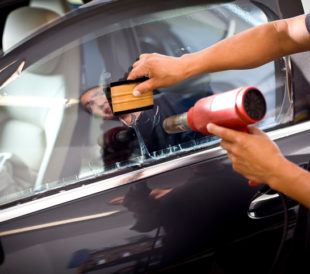 car window tinting adhesive