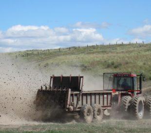 Fertalizer in a Field