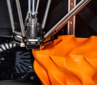 Filaments are plastic materials in spaghetti-like strands that are melted and extruded onto a 3D printer to make a component or final product according to 3D software specifications.