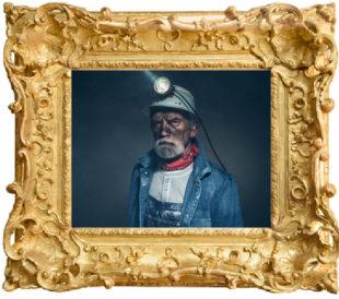 coal miner art