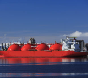 arctic oil and gas tanker