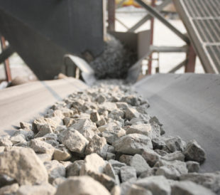 weighing mined bulk materials