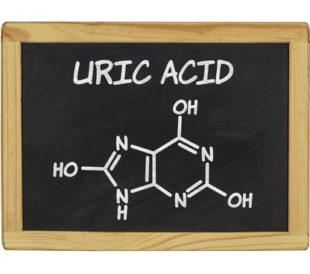 Uric Acid chemical formula