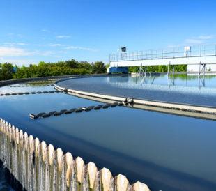 Modern urban wastewater treatment plant. Image: Dmitri Ma/Shutterstock.com.